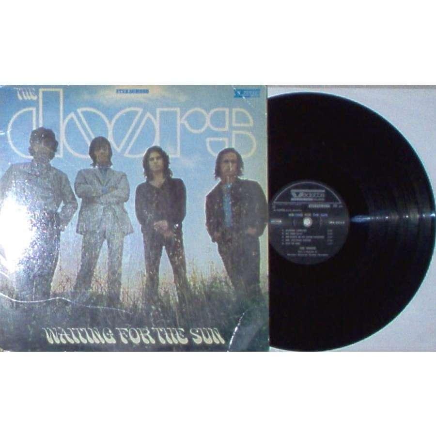 the doors Waiting For The Sun (Italian 1968 original 12-trk LP on Vedette lbl unique inside gf ps)