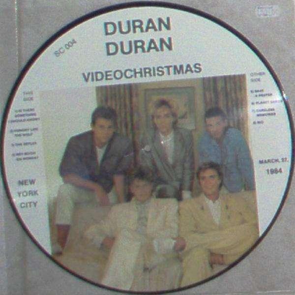Duran Duran VideoChristmass (NY City 27 March 1984) (SC lbl Ltd 8-trk live LP Picture Disc)