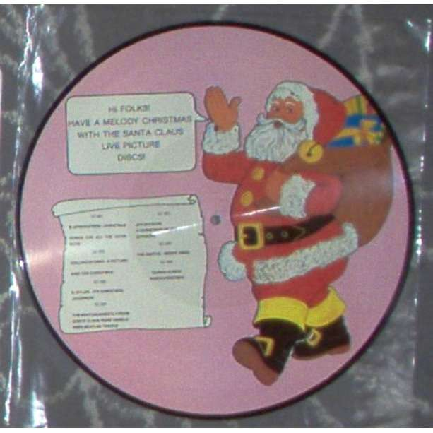 Duran Duran VideoChristmass (NY City 27.03.1984) (Ltd promo Santa Claus back LP Picture Disc)