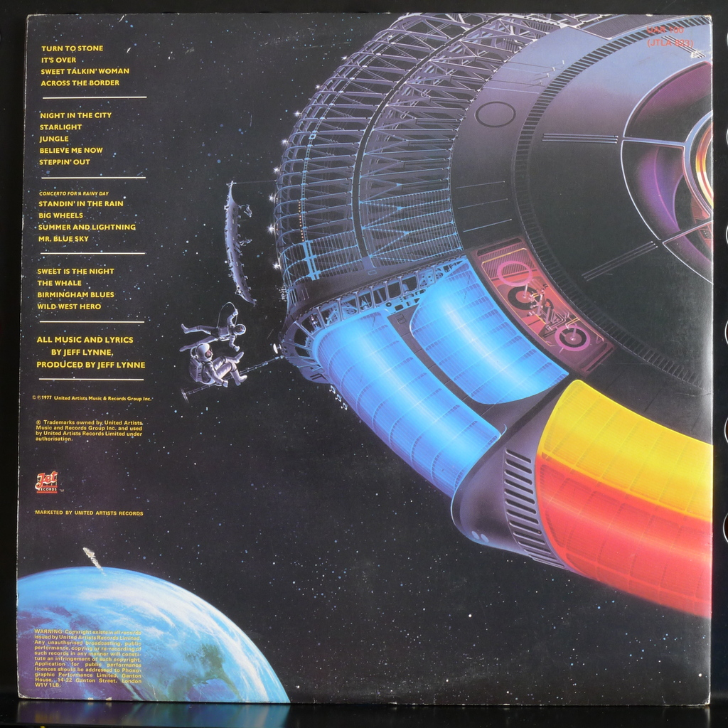 Out Of The Blue By Electric Light Orchestra Elo Double