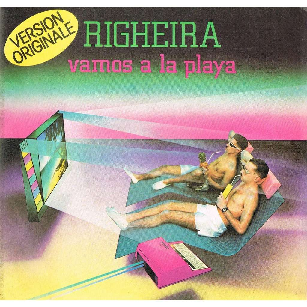 Vamos A La Playa By Righeira Sp With Lerayonvert Ref