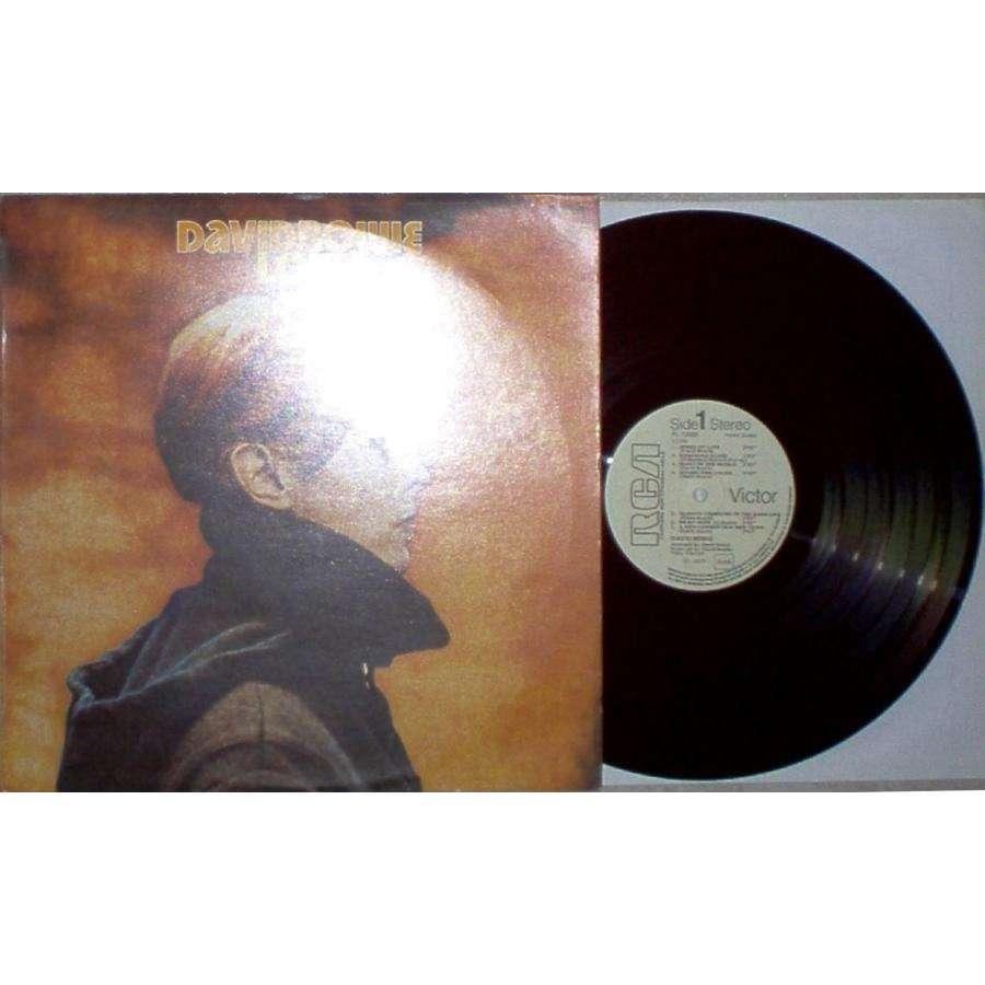 David Bowie Low (Italian 1977 w/label 11-trk LP promo full ps)