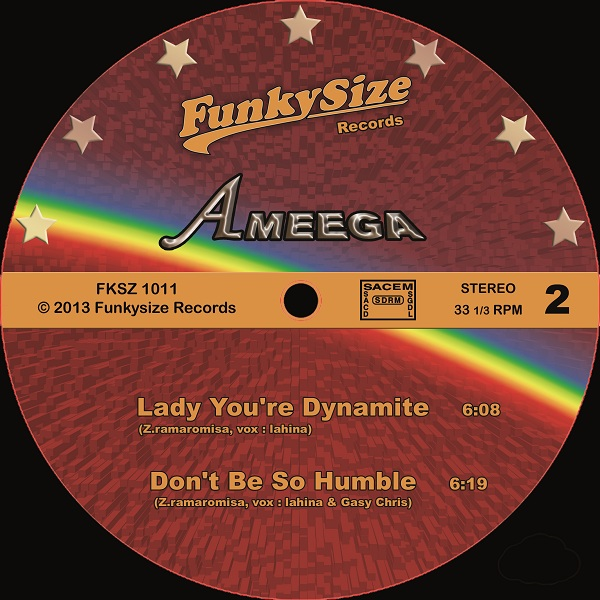 Ameega This Time Love's 15 / THe Happiest / Lady You're Dynamite / Don't Be So Humble
