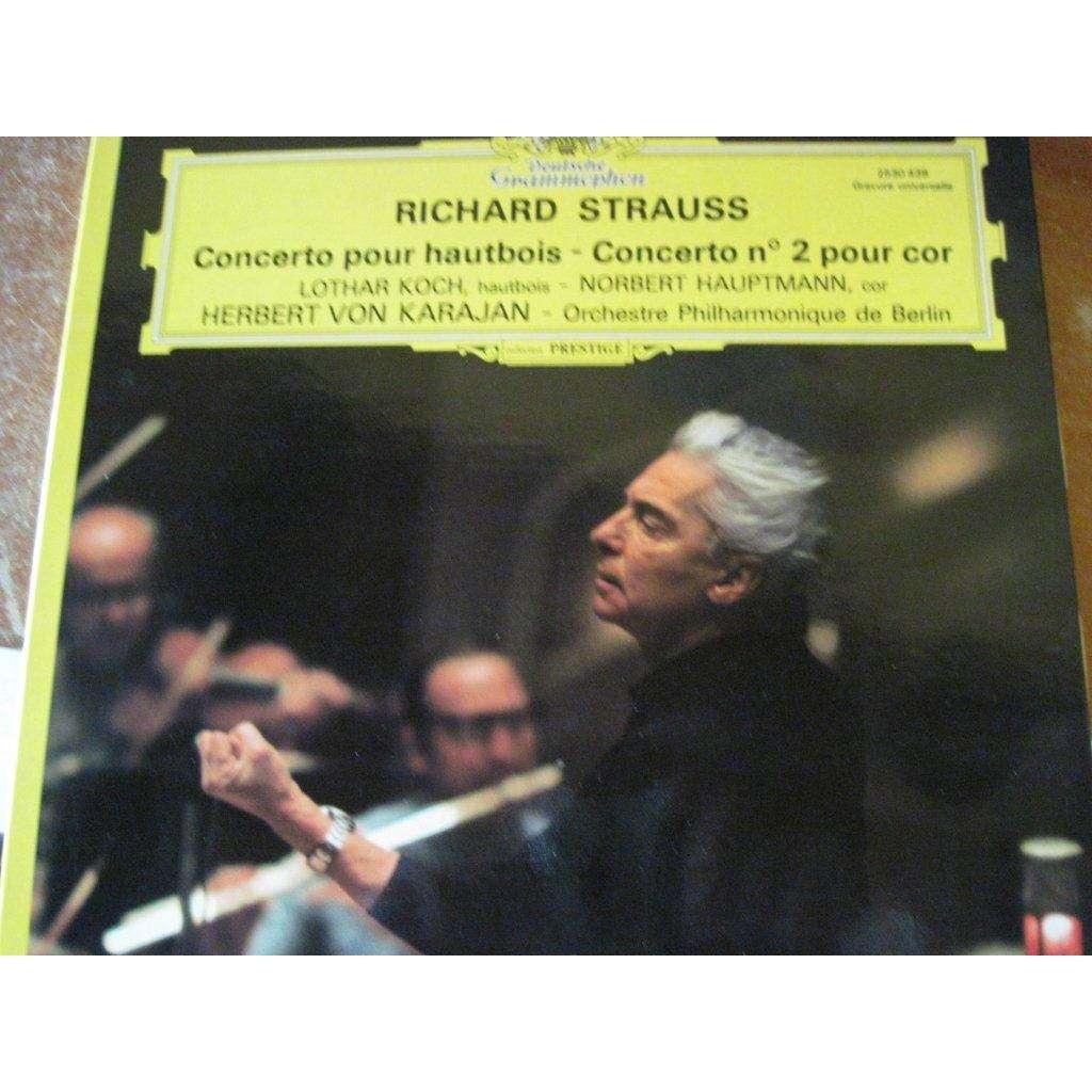 Cor Berlin concerto pour hautbois et n 2 pour cor by herbert karajan berlin