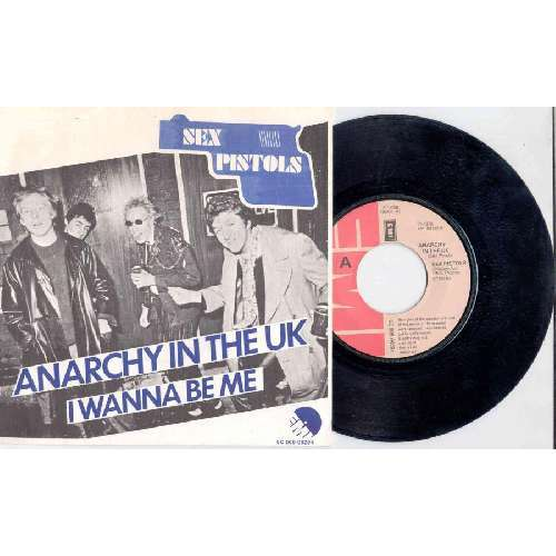 Sex Pistols ANARCHY IN THE UK (HOLLAND 1976 2-TRK 7 SINGLE ABSOLUTELY UNIQUE PS)