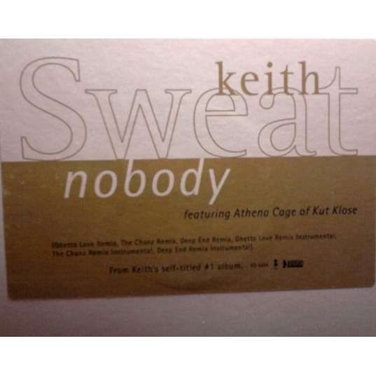 Keith Sweat featuring Athena Cage Nobody Remixes