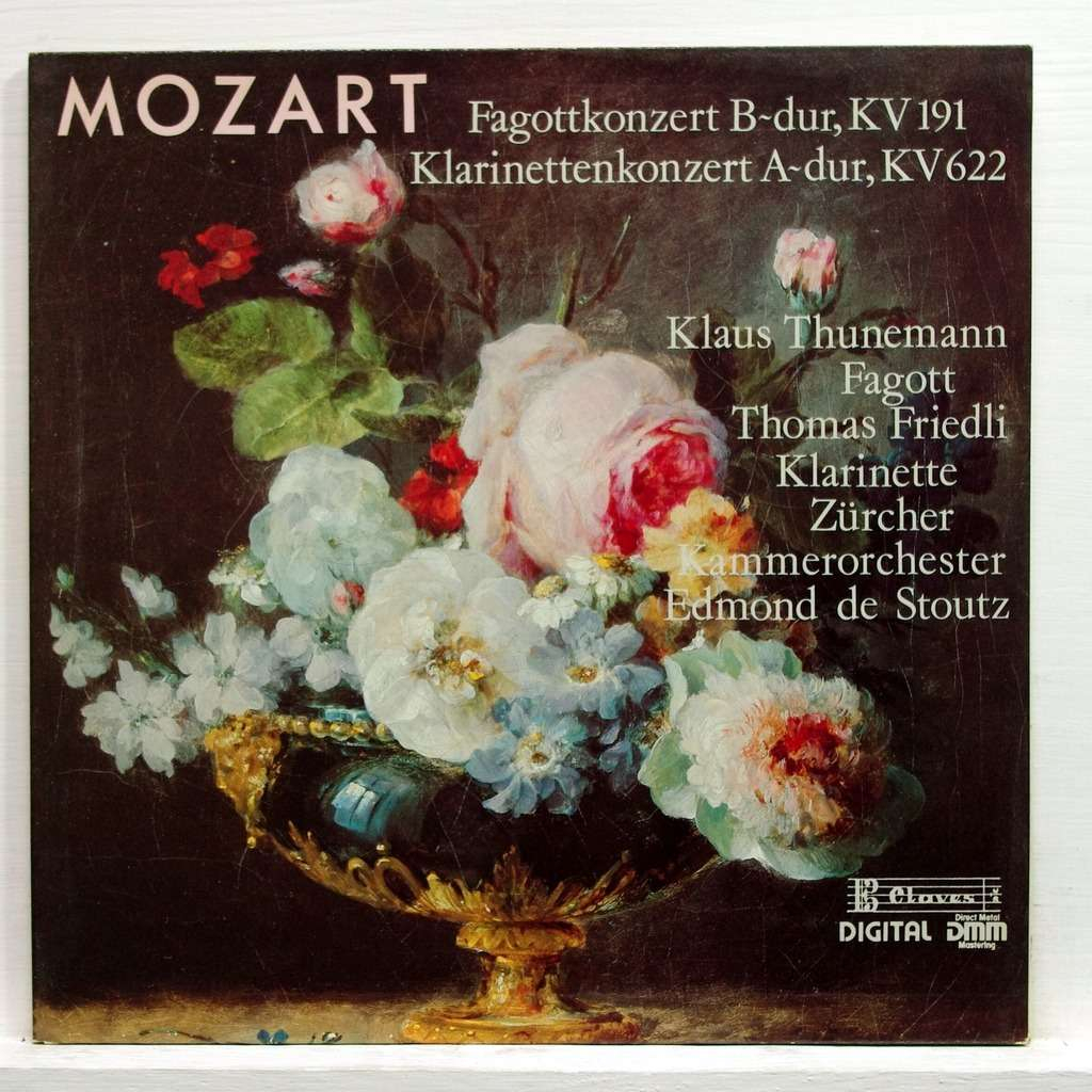 an analysis of mozarts bassoon concerto in b flat major k 191 All information about herbert von karajan at a glance and a click mozart: concertos for bassoon concerto in b flat major, k191 (1987.