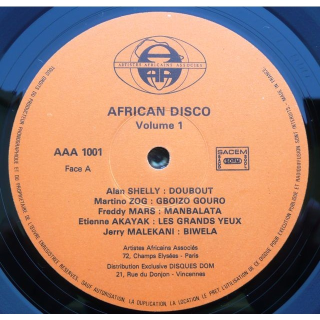 Various - African Disco African Disco Volume 1