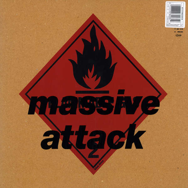 Massive Attack Blue Lines ( lp )