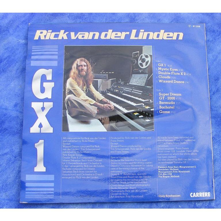 Rick Van Der Linden - GX 1