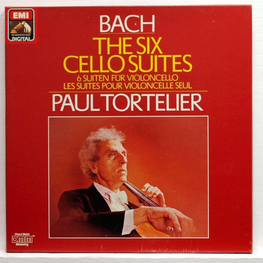 JS Bach Paul Tortelier The Cello Suites