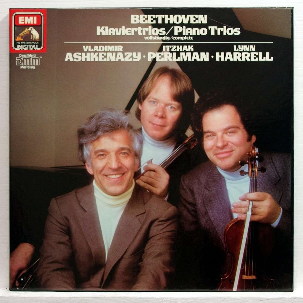 Beethoven The Complete Piano Trios By Vladimir Ashkenazy