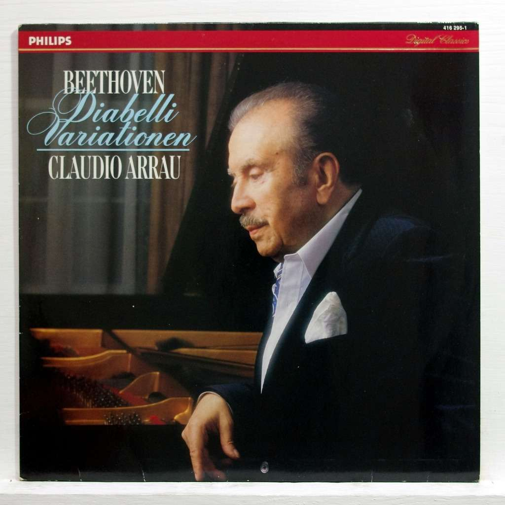Beethoven 33 Variations In C On A Waltz By Diabelli Op