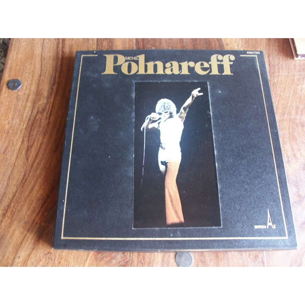 MICHEL POLNAREFF MICHEL POLNAREFF BOX SET 3 lp