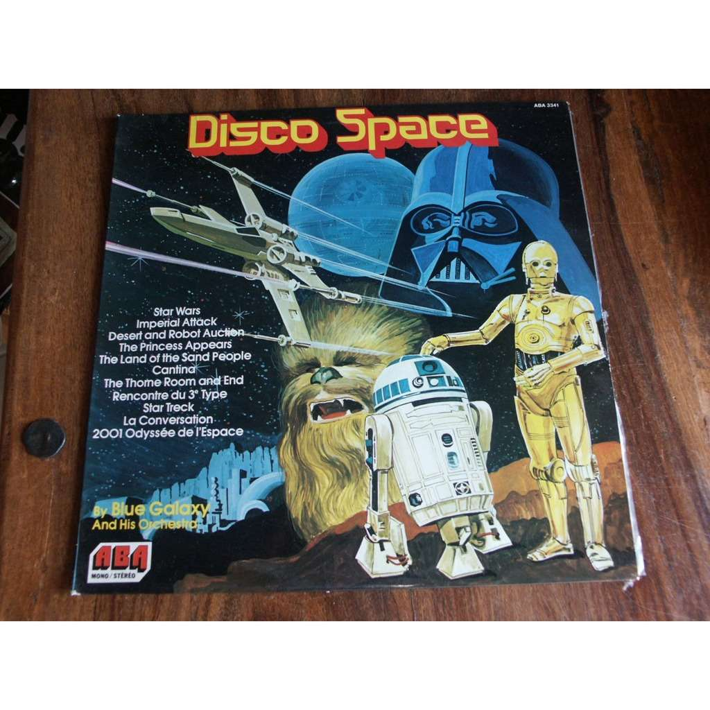 Blue Galaxy & his Orchestra Disco Space