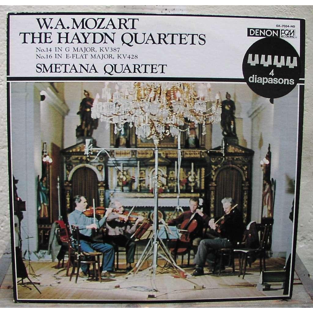 mozart The Haydn Quartet N°14 G major KV387  N°16 E flat major KV428