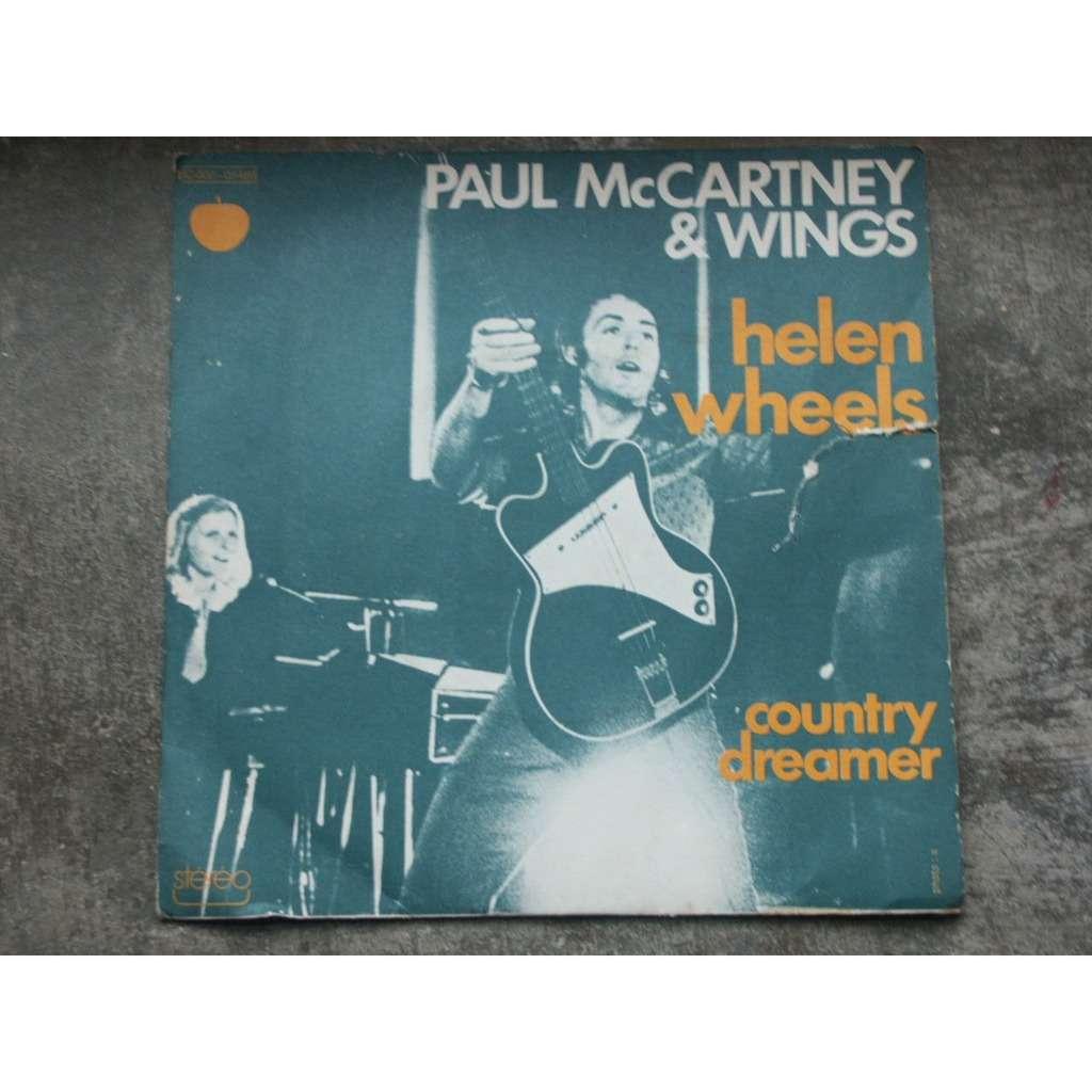 PAUL MCCARTNEY & WINGS helen wheels