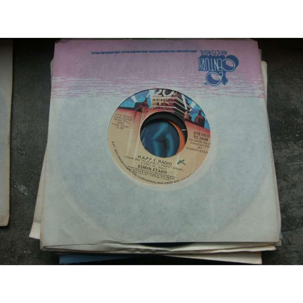 Starr, Edwin H.A.P.P.Y. radio / My friend