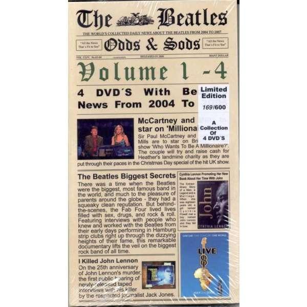 Beatles Odds & Sods Vol.1-4 (Ltd 600 copies 4xDVDs Box set)