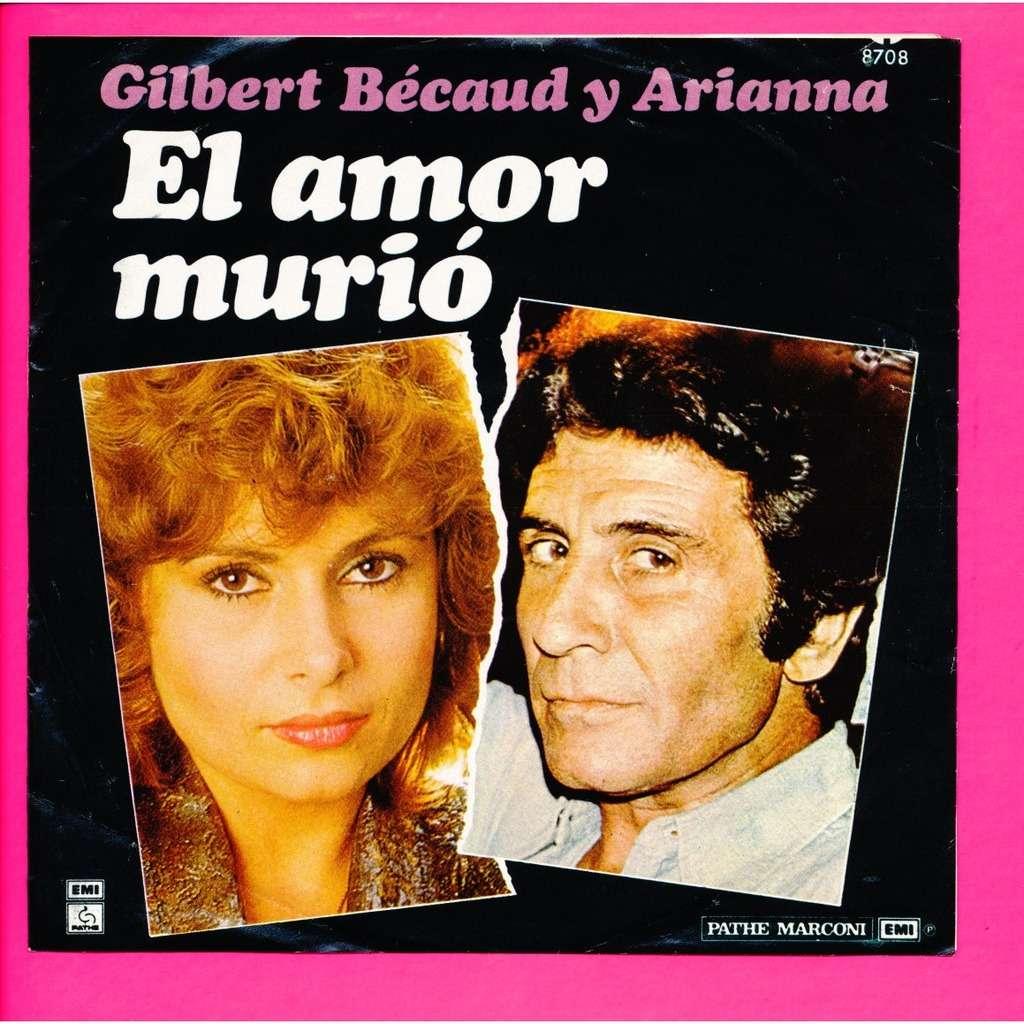 GILBERT BECAUD - ARIANNA - ( NEIL DIAMOND ) el amor murio - septiembre amor