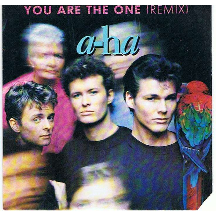 A-HA YOU ARE THE ONE (remix) / OUT OF BLUE COMES GREEN (LP) -cut promo-