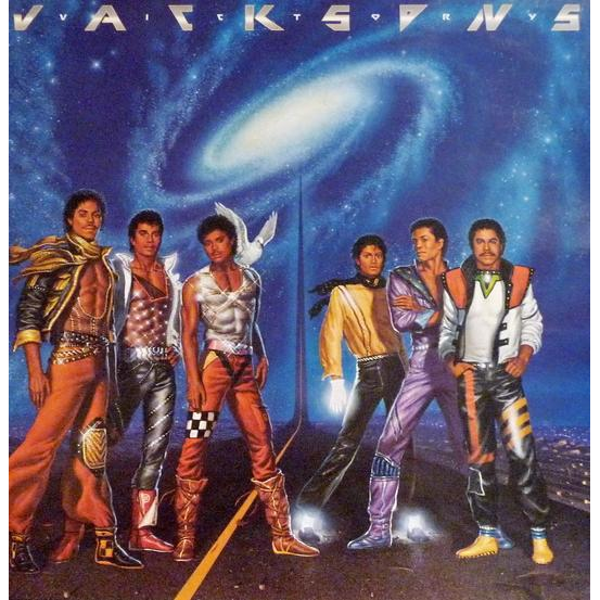 THE JACKSONS Victory (ORIGINAL PRESSING WITH UNCENSORED COVER)