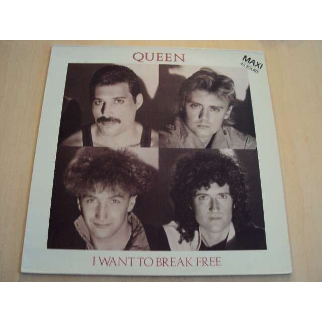 queen I want to break free (extended version) 1984 FRANCE