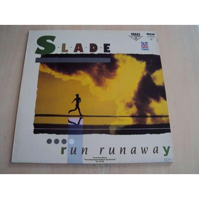 slade run runaway / Two track stereo, one track mind 1983 GERMANY (MAXIBOX)