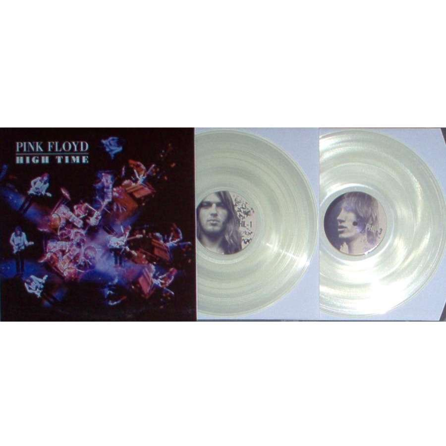Pink Floyd High Time (Electric Factory Philadelphia 26.09.1970) (Ltd 200 copies 2LP Clear Wax ps)
