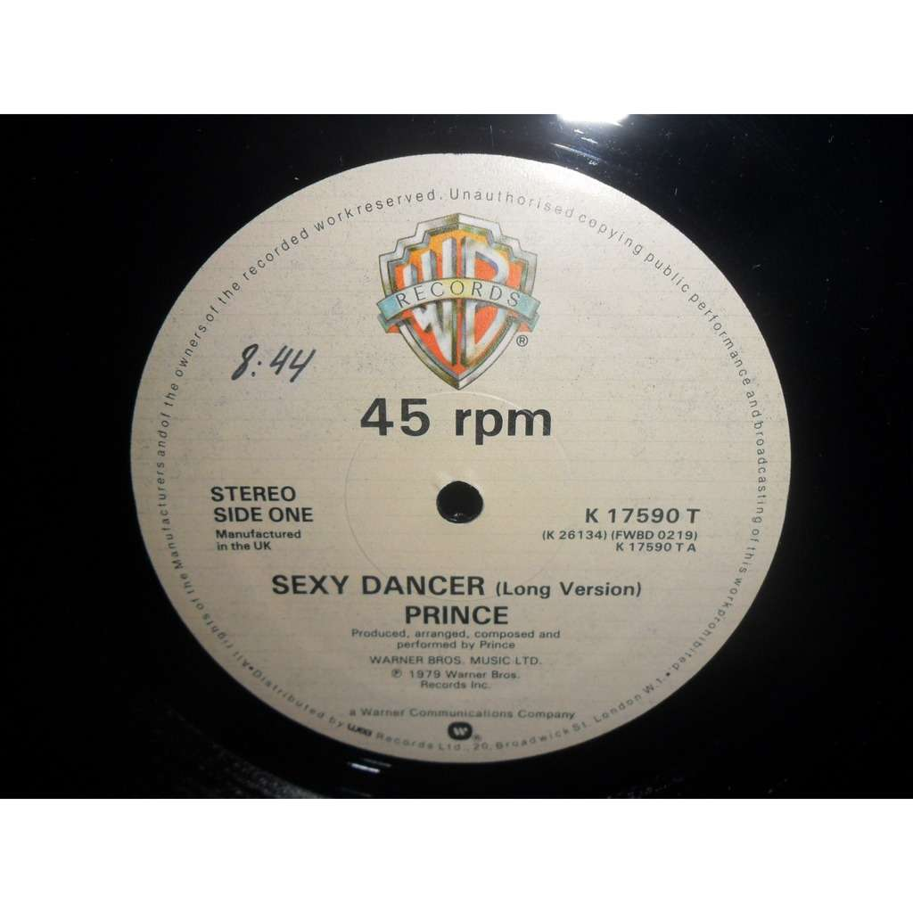 Prince sexy dancer extended version