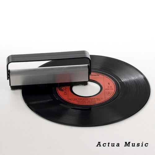 brosse antistatique pour vinyle brosse en fibre de carbone pour disque vinyle