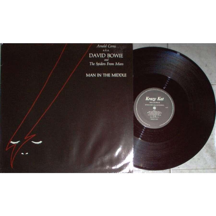 David Bowie / Arnold Corns Man in the Middle (Swedish 1984 Ltd 3-trk 12 ep unique ps)
