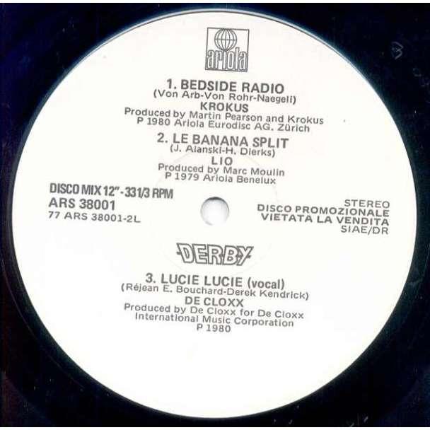 LIO Le Banana Split (Italian 1980 w/label 12 EP promo sampler)