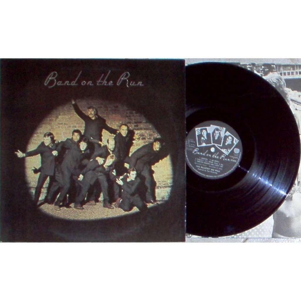 Beatles / Paul McCartney & Wings Band On The Run (Italian 1973 original 9-trk LP laminated ps & inner slv)