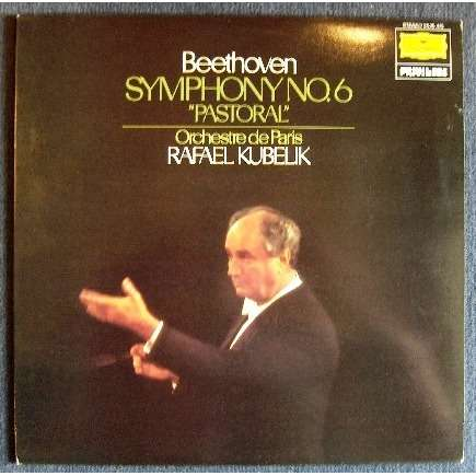 Symphony N 176 6 Pastoral By Beethoven Rafael Kubelik Lp