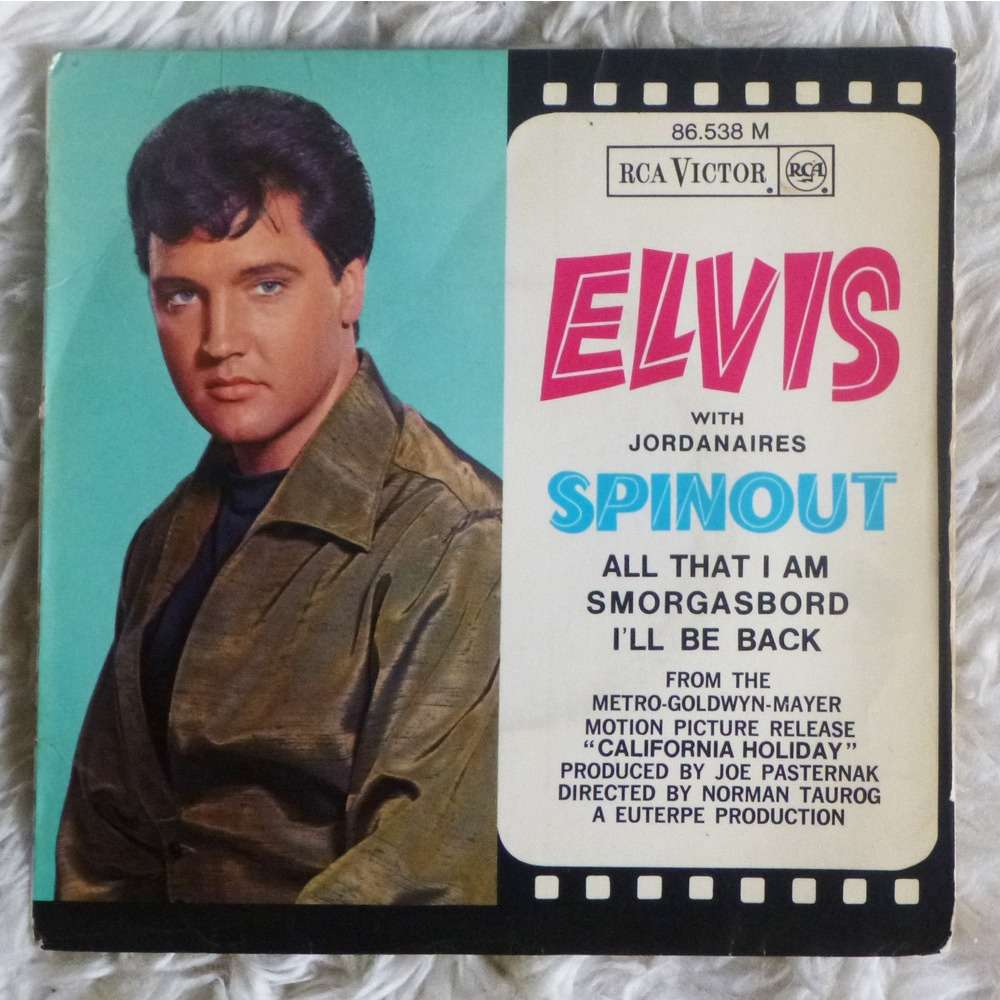 Spinout 3 Top Rare French Ep By Elvis Presley Ep With