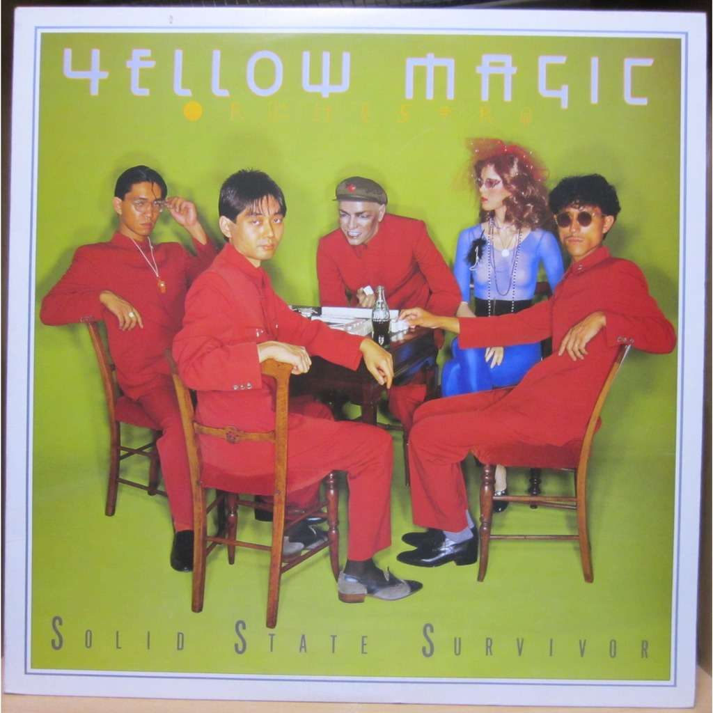 Solid State Survivor Yellow Vinyl Yellow Magic