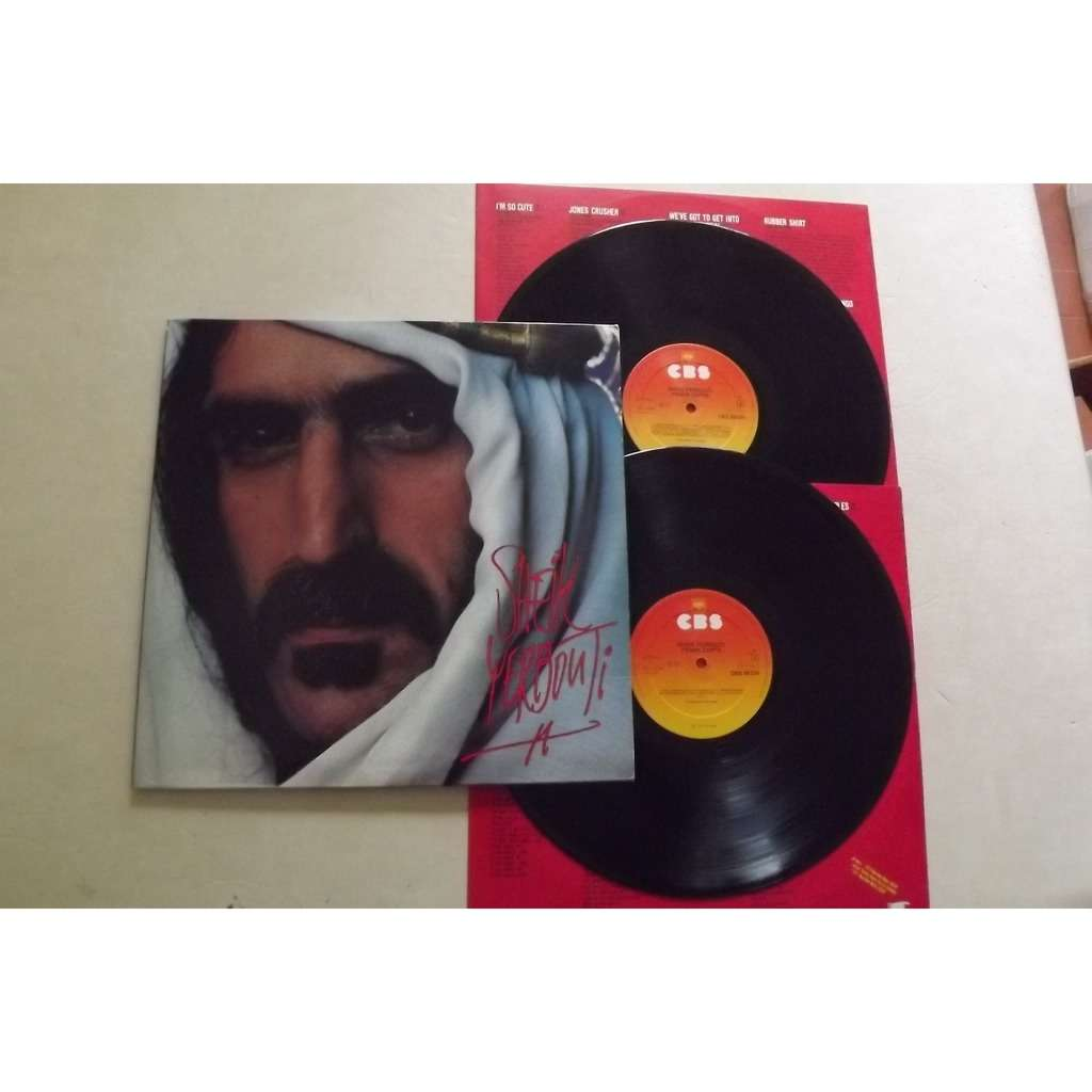 Frank Zappa Sheik Yerbouti Records Lps Vinyl And Cds
