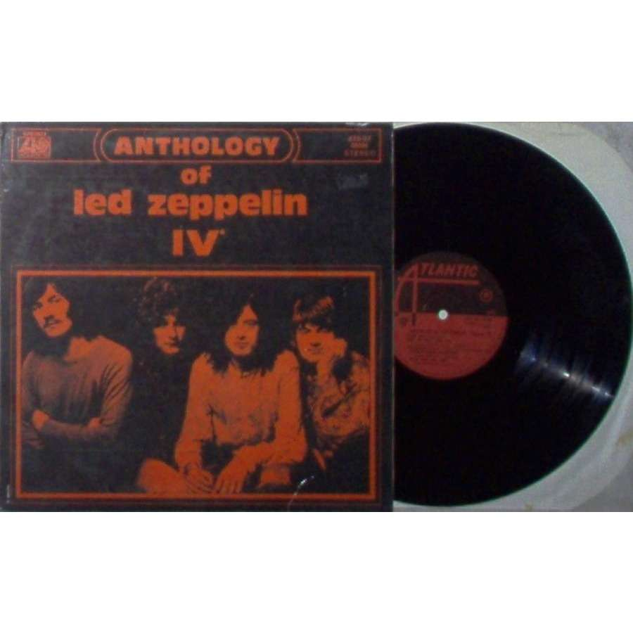 Led Zeppelin Anthology of Led Zeppelin (Italian-only 1970 10-trk LP absolutely unique ps)