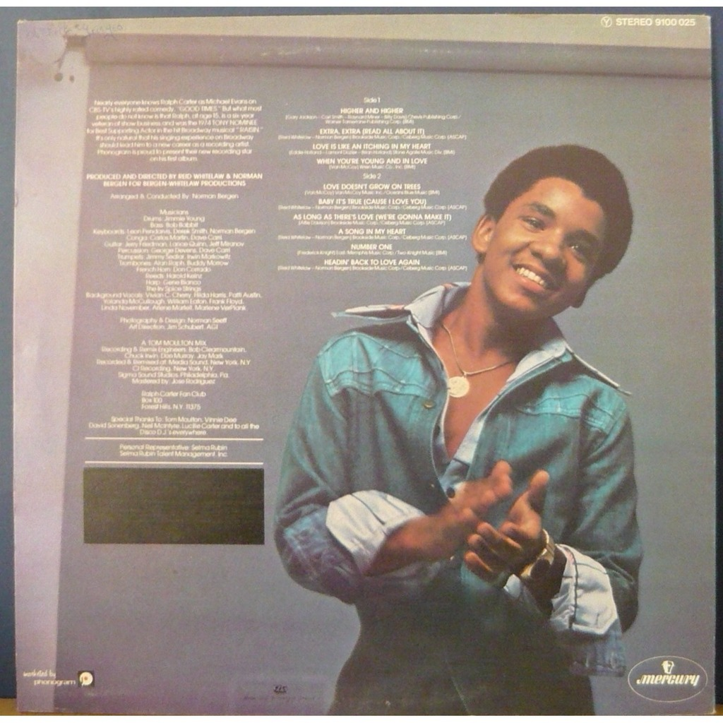 Ralph Carter Young Young and in love - Ra...