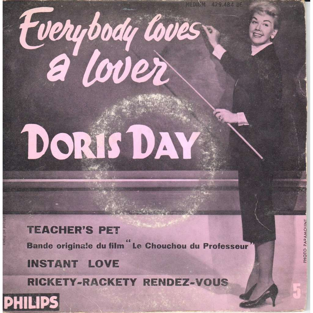 Doris Day everybody loves a lover