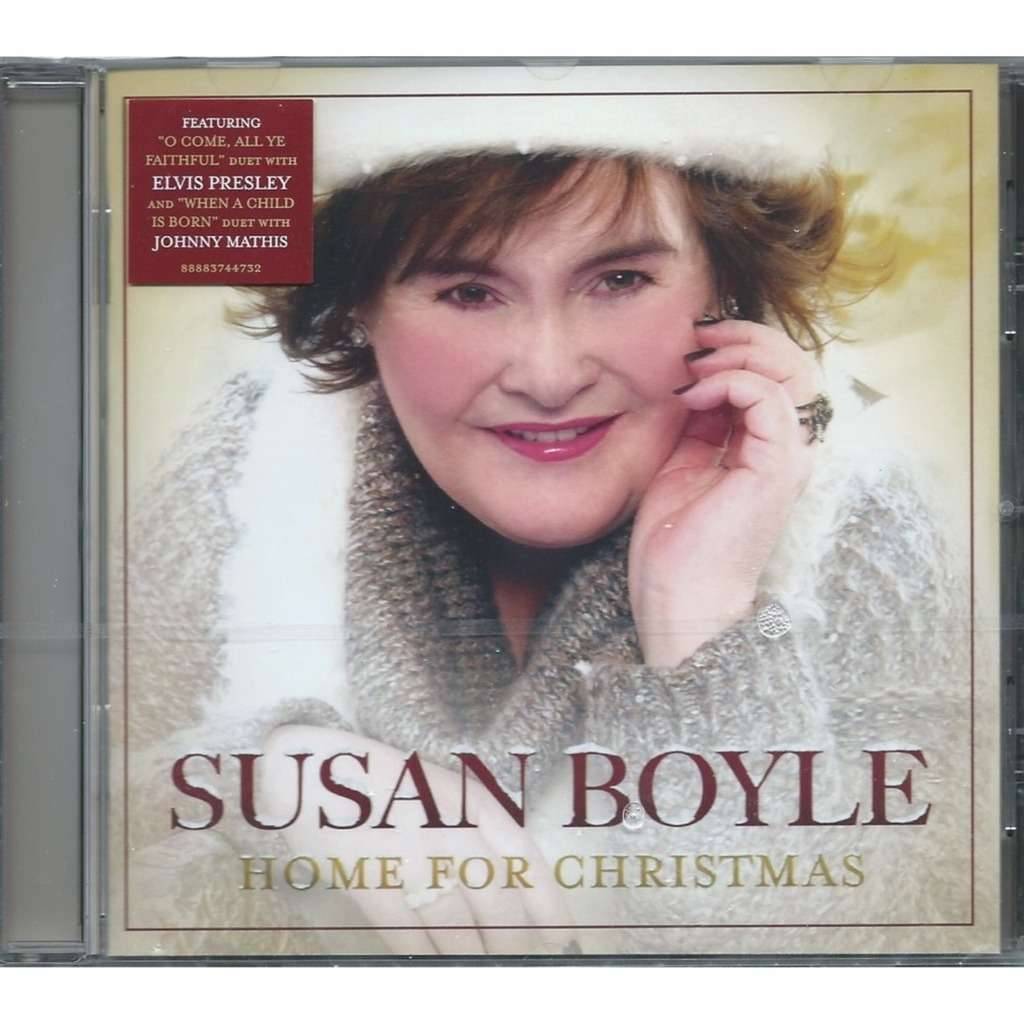 Home for christmas by Susan Boyle, CD with louviers - Ref:116401251