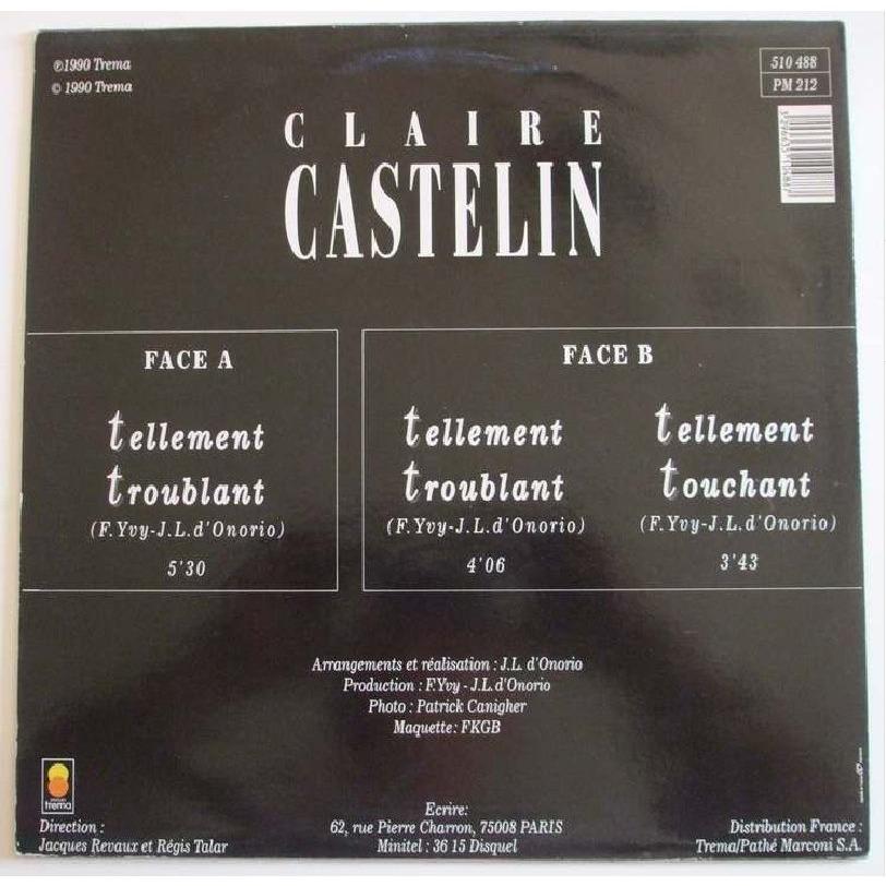 Claire Castelin Tellement troublant