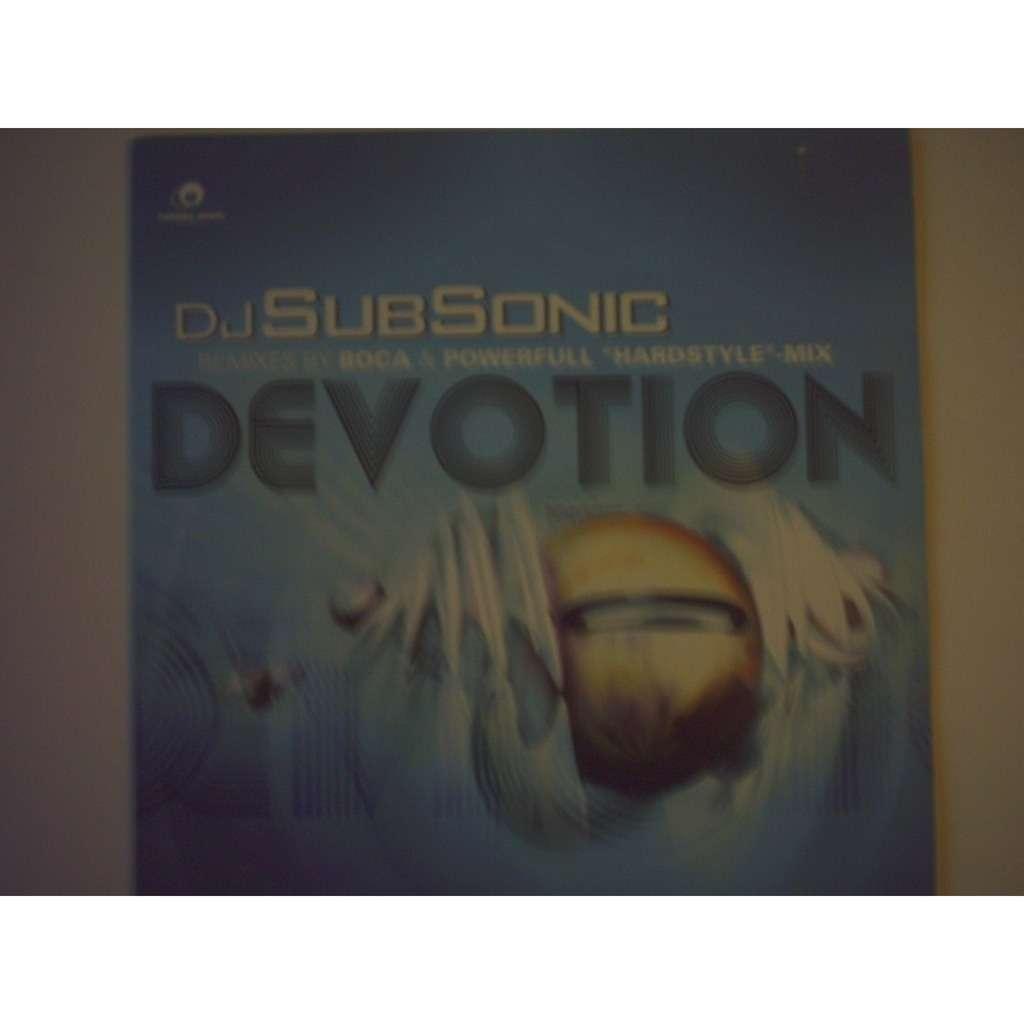 dj subsonic devotion