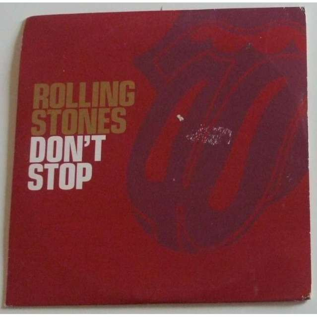 The Rolling Stones Don't stop