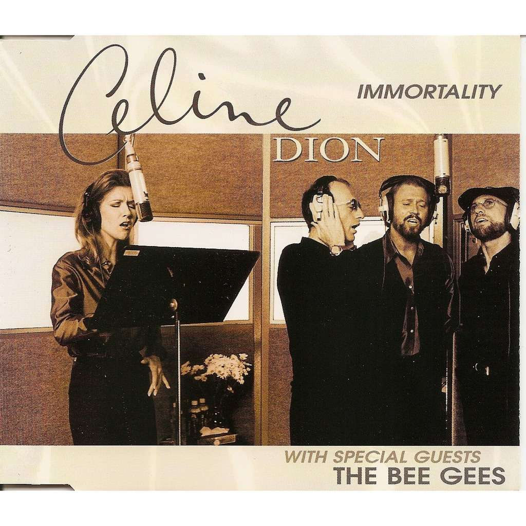 Immortality By Celine Dion Featuring The Bee Gees Cds