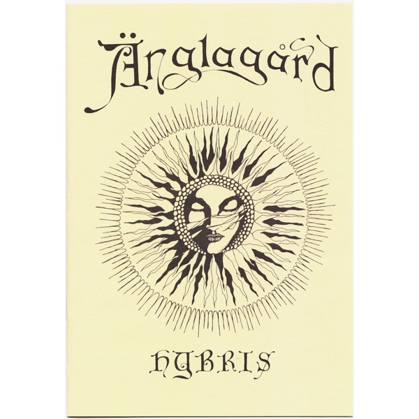 ANGLAGARD Hybris (orginal Norway first press - 1992 - complet with insert - Perfects conditions)