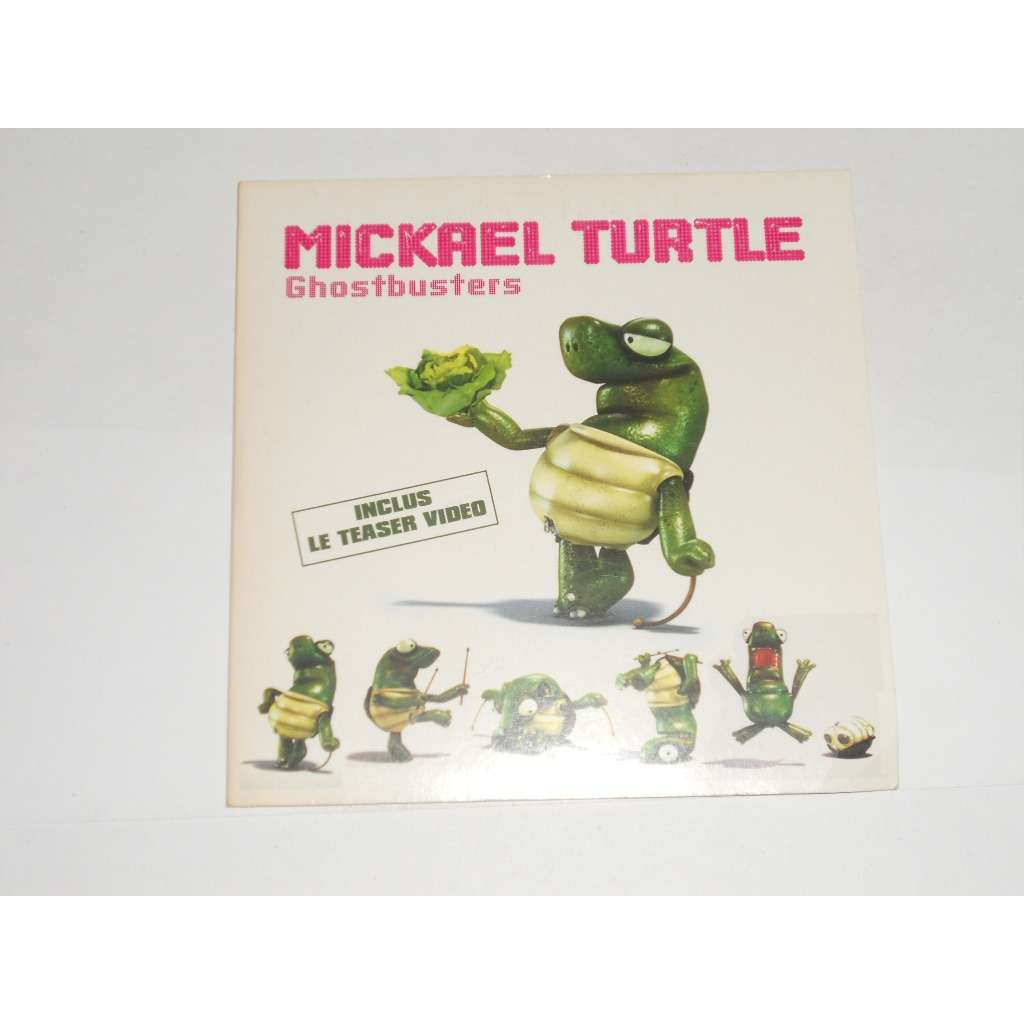 Mickael Turtle Ghostbusters