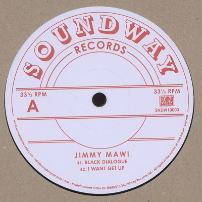 Jimmy Mawi Black Dialogue EP