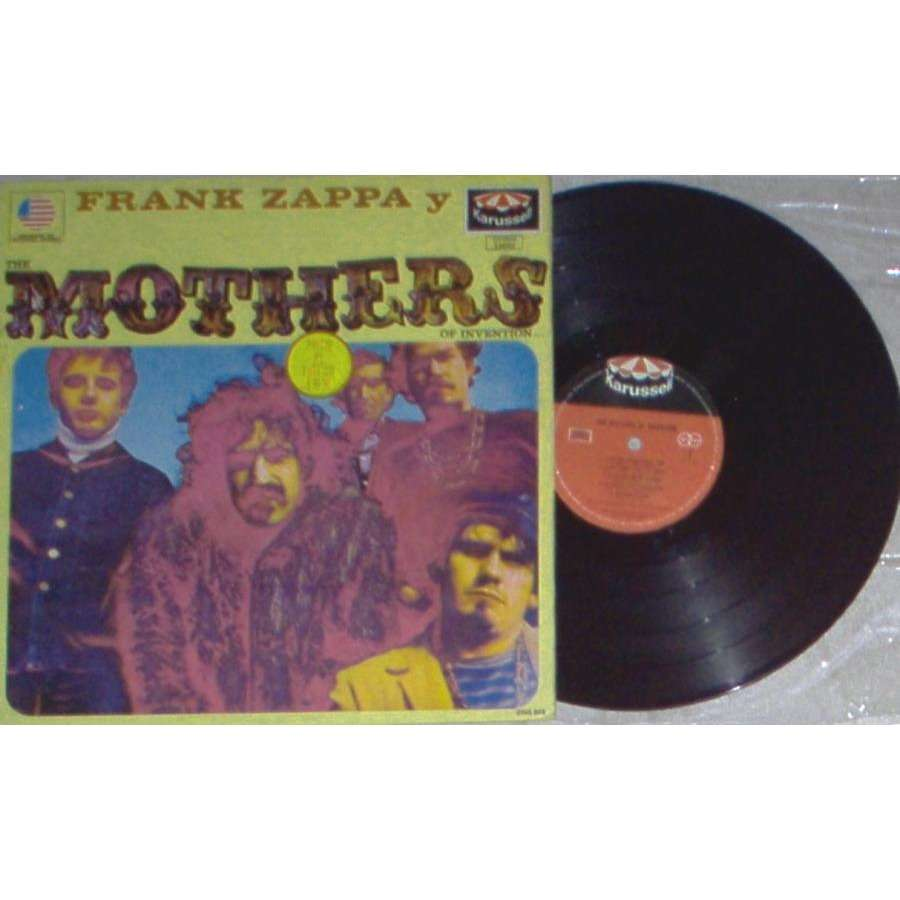 Frank ZAPPA / Mothers of Invention Frank Zappa Y Mothers (Mexico 1972 10-trk LP on 'Karussell' lbl unique ps)